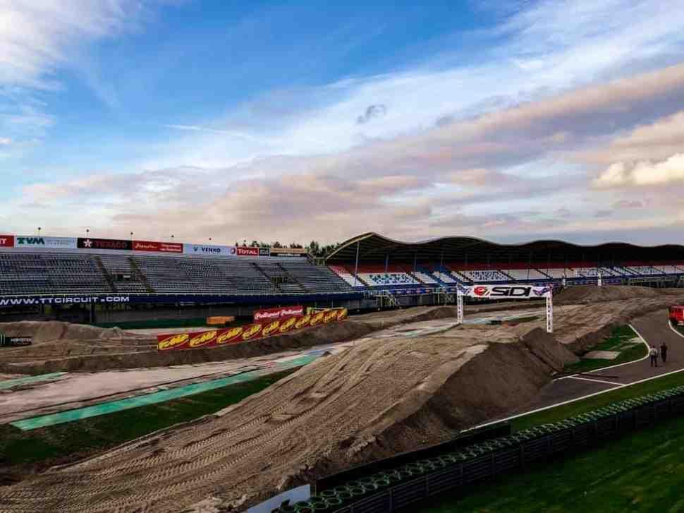 MXoN-2019: Фотографии трассы Мотокросса Наций на TT Circuit Assen