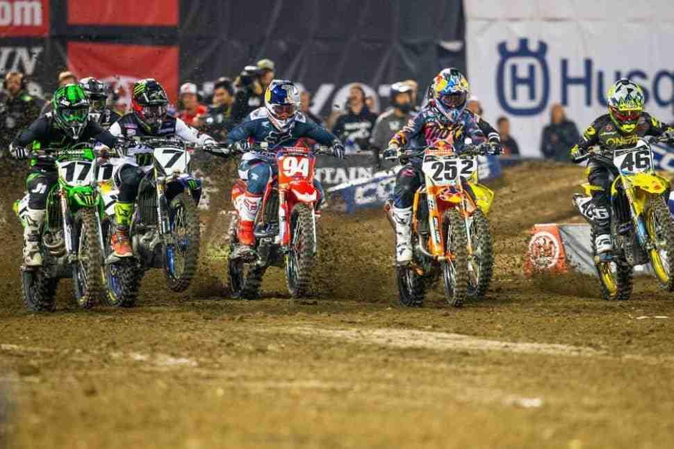AMA Supercross 2019: видео решающей гонки 450SX в Окленде
