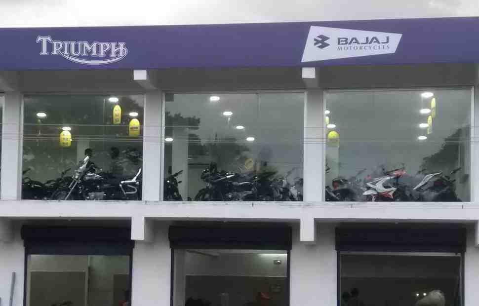 ������������ ����������� ����������� Triumph Motorcycles � Bajaj