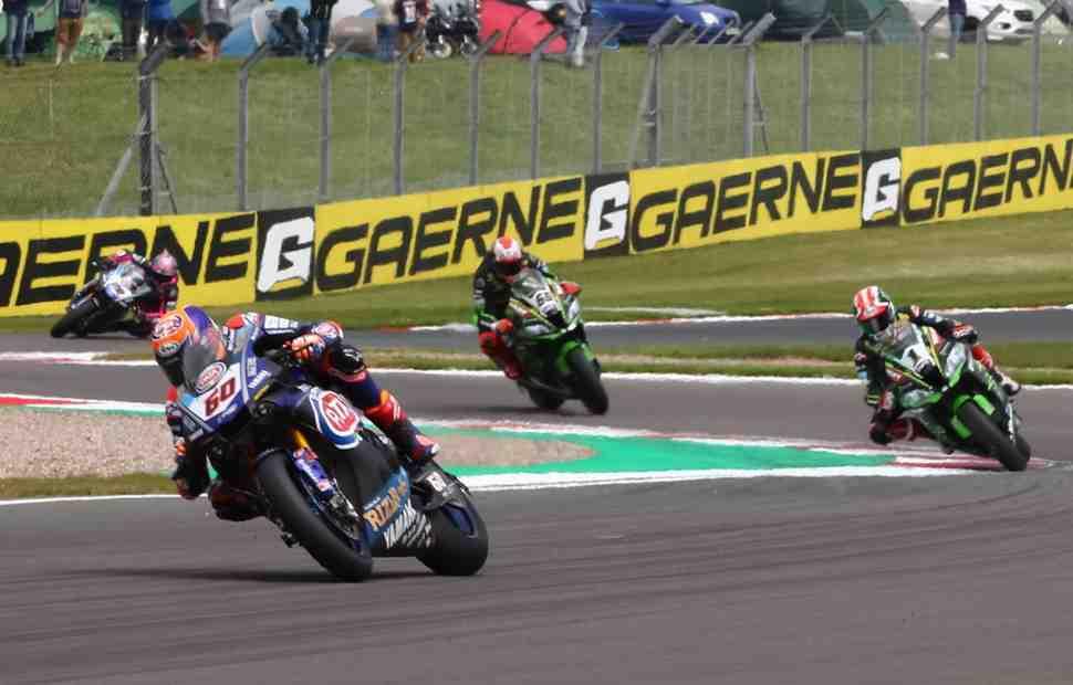 Yamaha: Еще один шанс на победу - стартовая решетка WSBK для 2-й гонки в Донингтоне