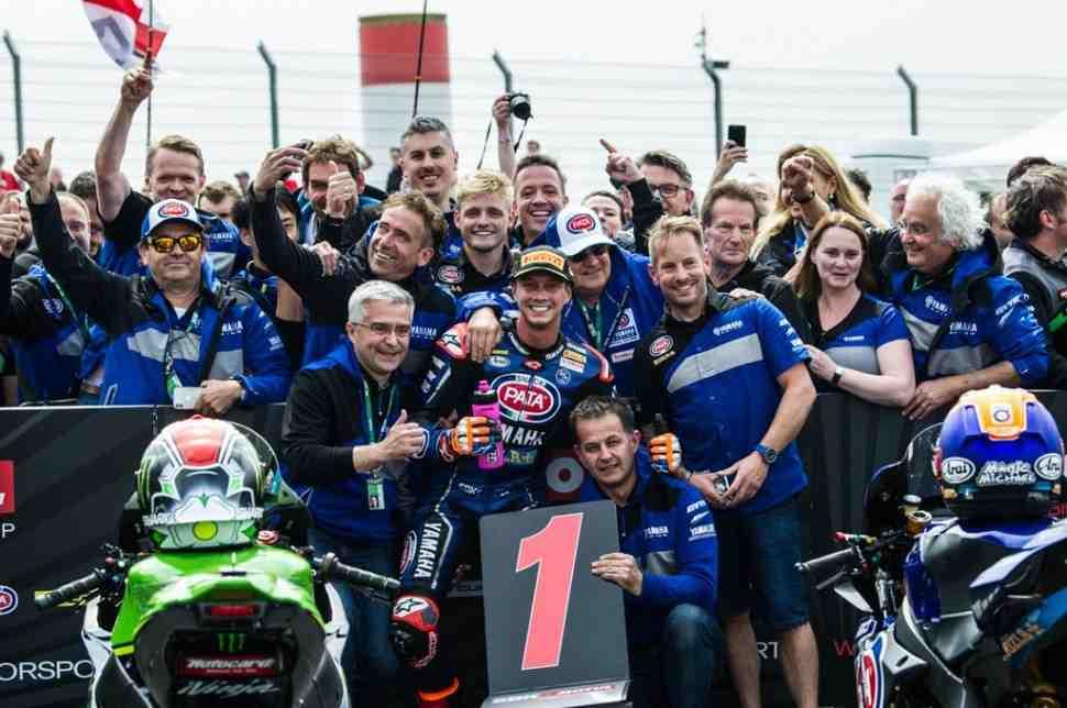 История: Yamaha вновь побеждает в World Superbike