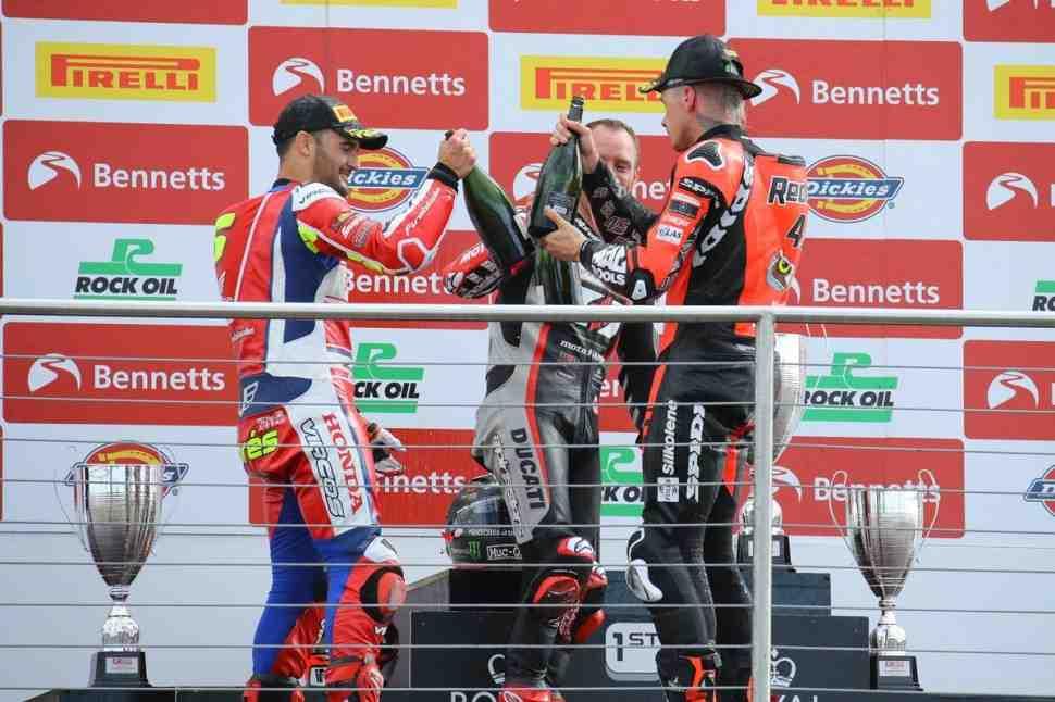 ������ WSBK � MotoGP ������ ��� � British Superbike: ���-���� ������ �������� � ����������