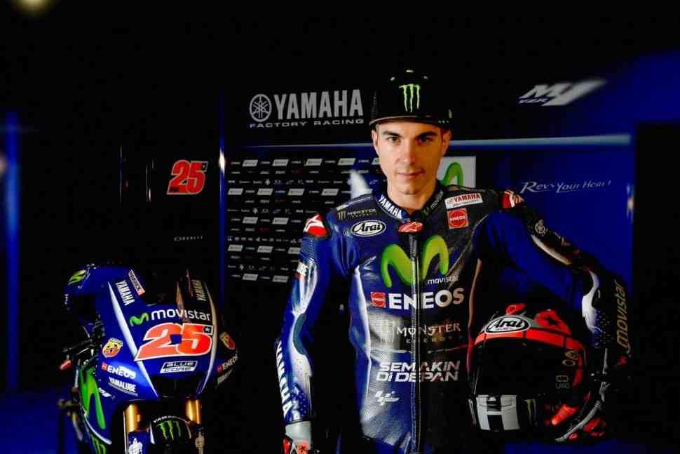 MotoGP: Интервью - Негативный баланс Маверика Виньялеса