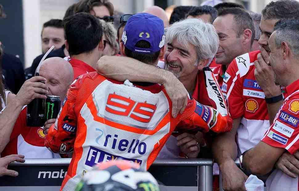MotoGP: Луиджи Даль′Инья - «В Монтмело мы увидели настоящего Хорхе Лоренцо»
