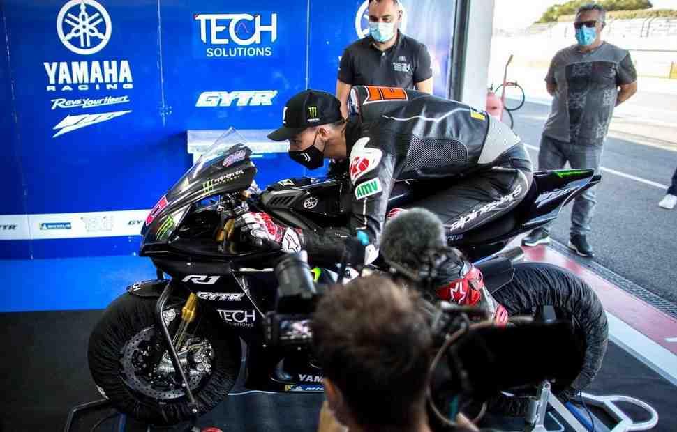 Ход конем: пилоты Yamaha из MotoGP получили шанс протестировать Circuito de Jerez