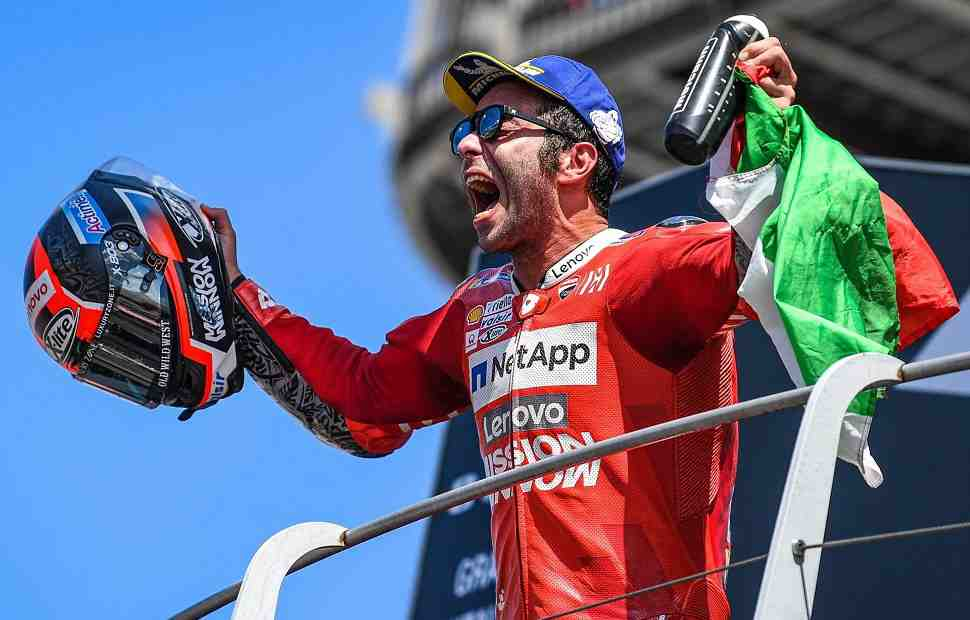 MotoGP: Три качества, которые оценили в Данило Петруччи боссы KTM Factory Racing и Tech3