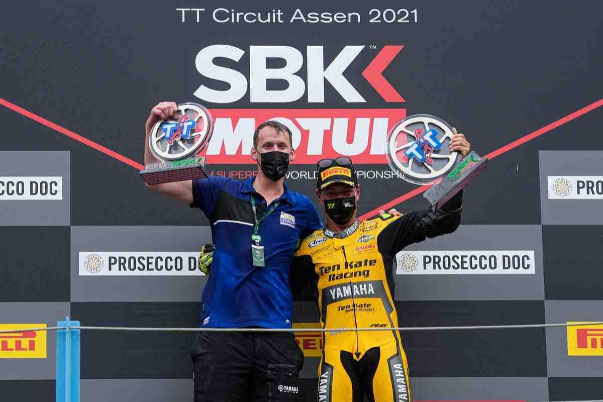 �������� Ten Kate Yamaha - ������� ������� ������ ������� �������� ����� �� TT Circuit Assen