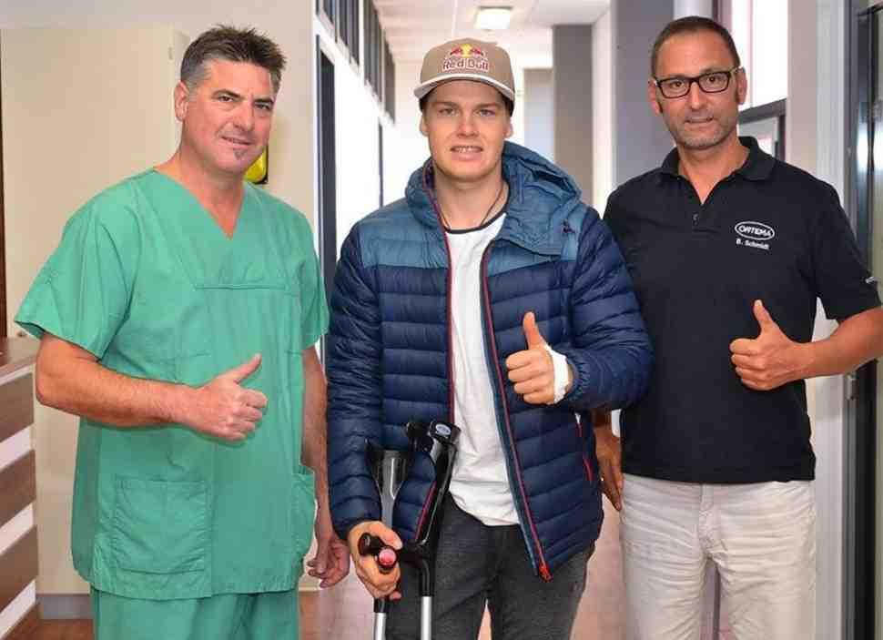 Мотокросс MX2: Паульс Йонасс пропустит финал Чемпионата Мира в Имоле