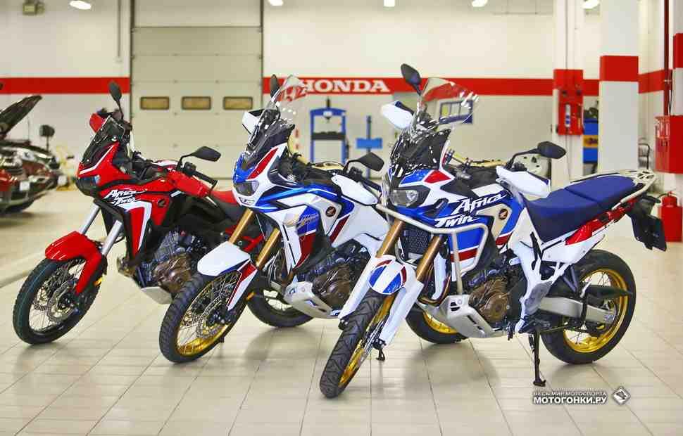 Два плюс один: всё о Honda CRF1100L Africa Twin и Adventure Sports 2020 года - часть 1