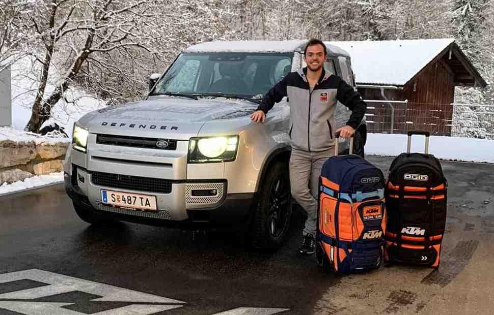 Чемпион 2018 года Маттиас Валькнер рассказал о трудностях самоизоляции перед Дакар-2021