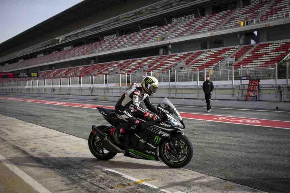 ��������� ������ ����� ������� � ���������: Kawasaki Racing �������� Barcelona-Catalunya Circuit