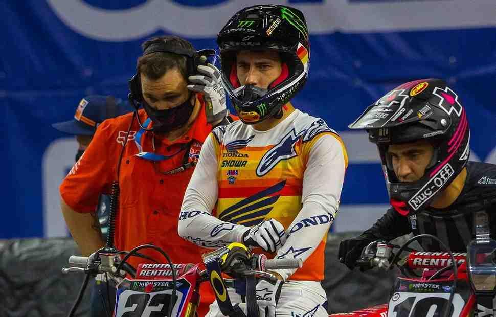 AMA Supercross: Чейз Секстон пропустит гонки в Индианаполисе