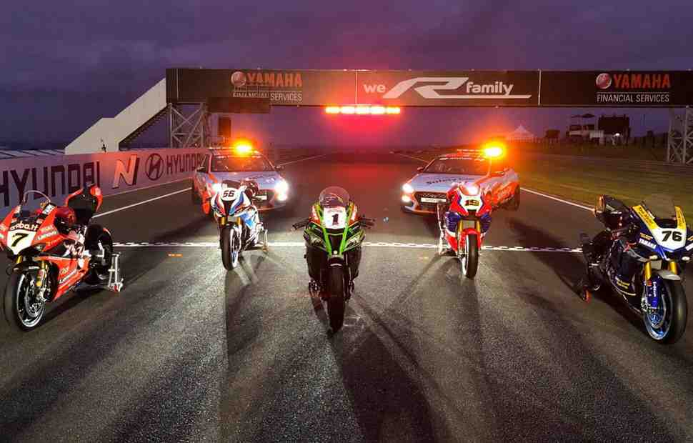 � World Superbike ������ ���� ����� ����������� ����������: Hyundai N-spired Rider Award