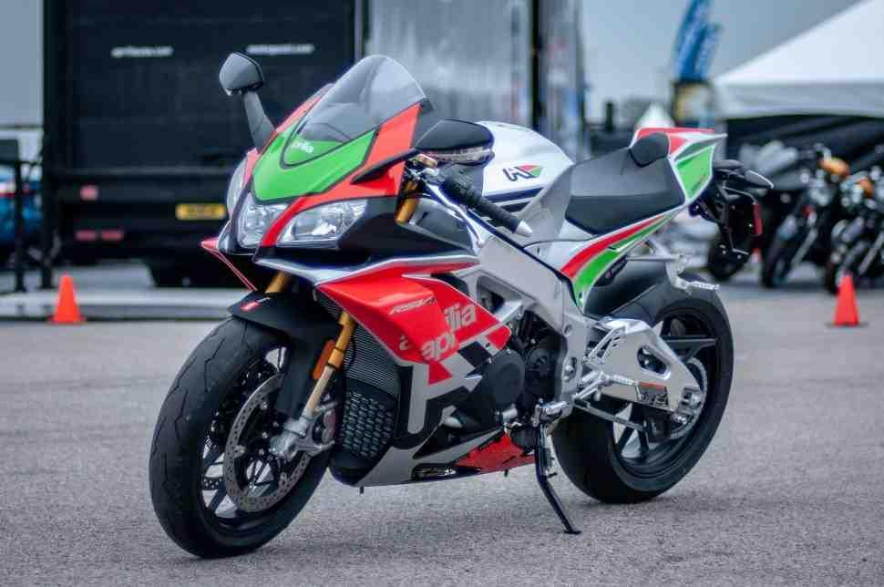 Как в MotoGP: лимитированную версию Aprilia RSV4 RF LE оснастили винглетами