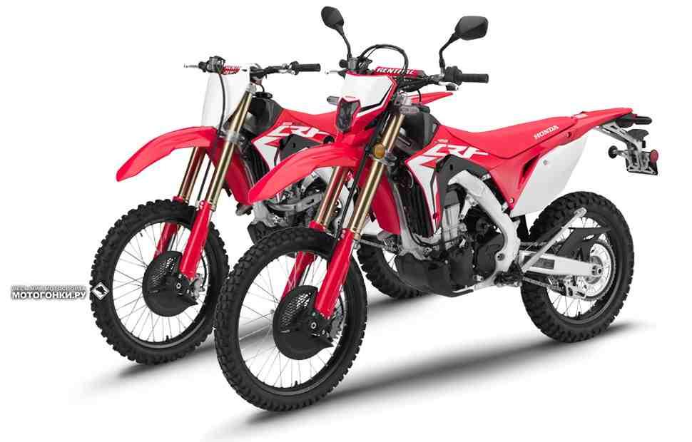 Honda CRF450L и CRF250RX - две новые модели мотоциклов для современного эндуро