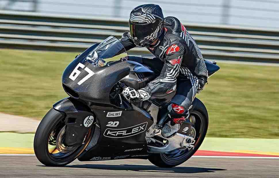 Первое появление: Kalex, KTM и NTS впервые опробовали мотор Triumph Moto2
