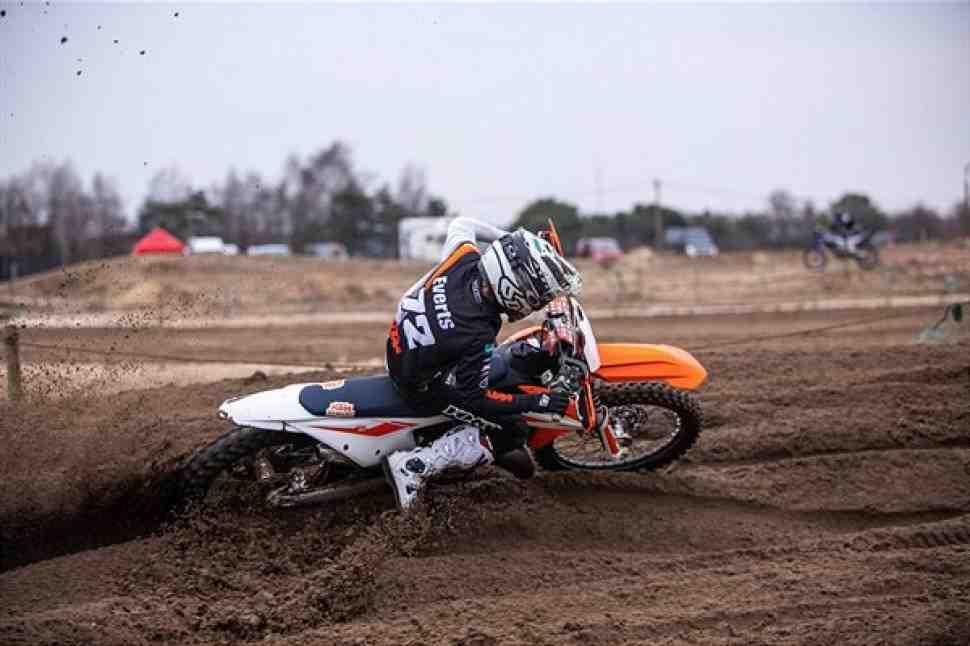 Мотокросс: Лиам Эвертс вступает в семью KTM
