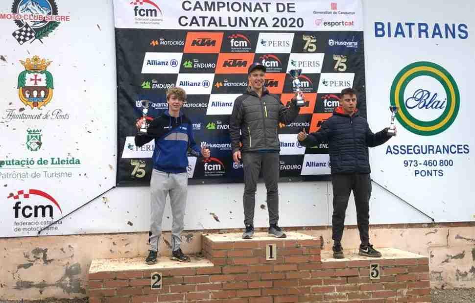 Мотокросс: Тимур Петрашин - чемпион Каталонии MX2