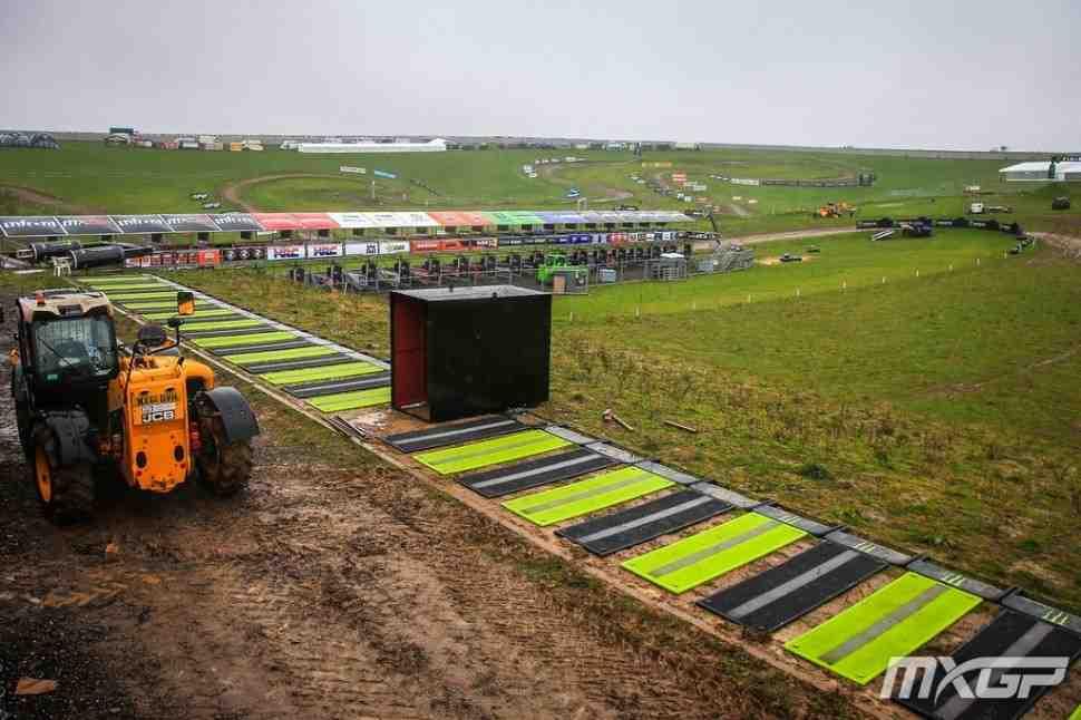 Мотокросс MXGP: расписание Гран-При Великобритании изменено из-за непогоды