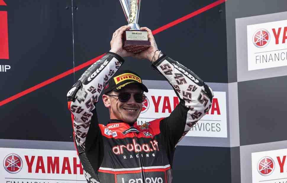 ����� ������� ����������� �� ������� � ������ ����� � Ducati � WorldSBK