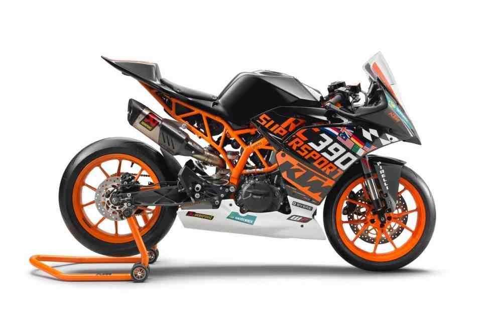 FIM �������� ����������� ��������� World Supersport 300: KTM 390 ��� ��������� ����