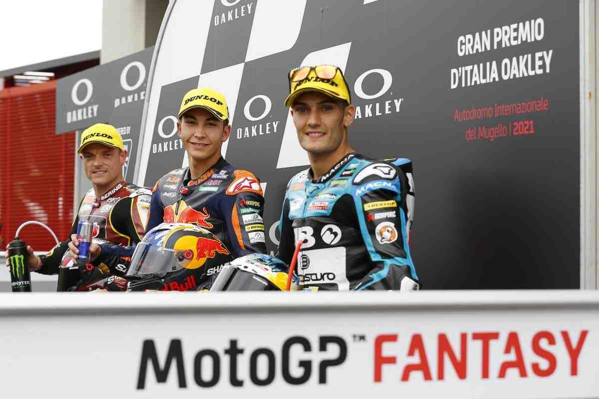 Moto2: Рауль Фернандес выиграл поул-позицию Гран-При Италии - на сликах по дождю