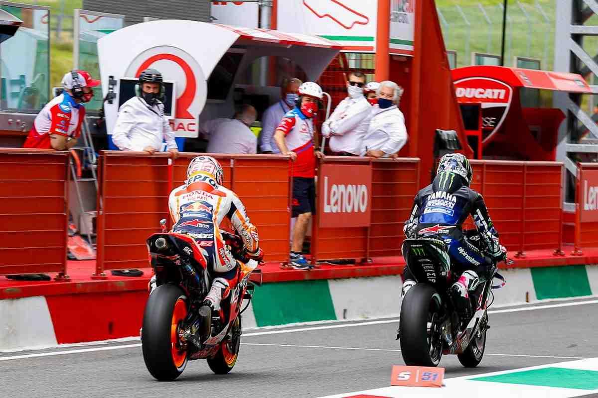 MotoGP: Маркес извинился перед Виньялесом за «ситуацию» на Q1 в Муджелло - инцидент исчерпан