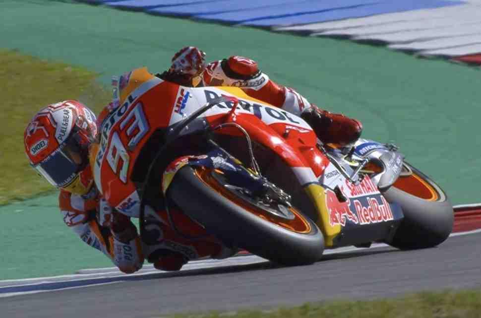 Маркес возглавил FP1 Гран-При Нидерландов в классе MotoGP