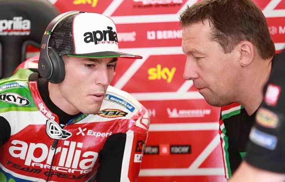 MotoGP: Маркус Эшенбахер уходит из Aprilia в KTM Factory Racing в 2019 году