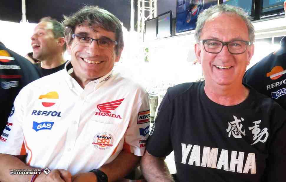 Ramones: два знаменитых инженера MotoGP - Аурин и Форкада поменяют место работы в 2019