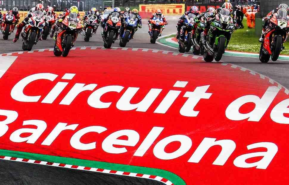 ����������: WorldSBK ���� �� Circuit de Barcelona-Catalunya � 2020 ����