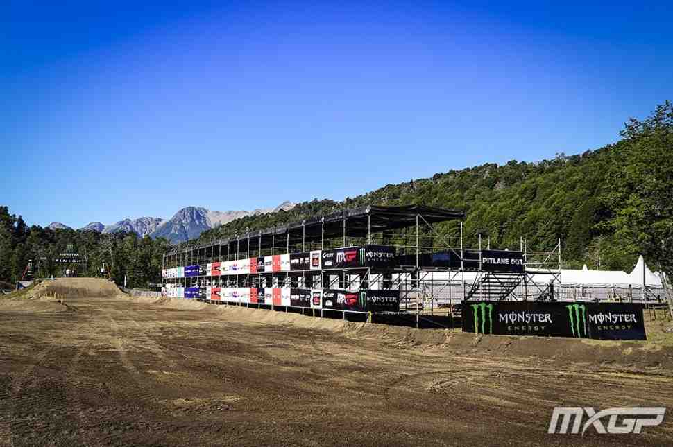 Мотокросс MXGP: круг по трассе Гран-При Патагонии с Жюлем Либером - видео