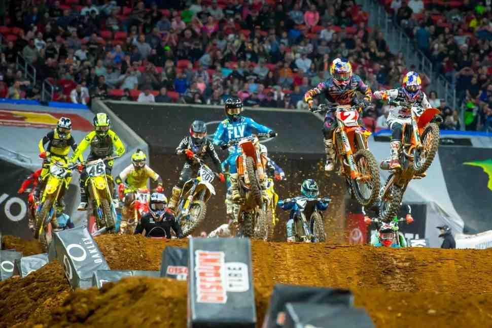 AMA Supercross: подробности, фото и результаты 9-го этапа, Атланта