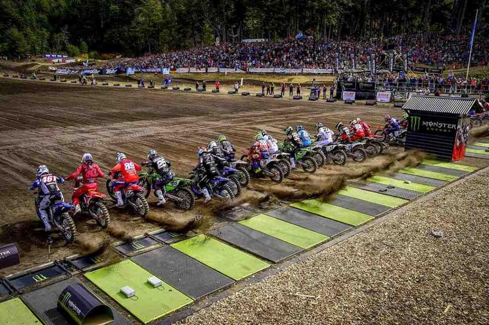 Мотокросс MXGP/MX2: видео квалификаций Гран-При Патагонии - Неукен