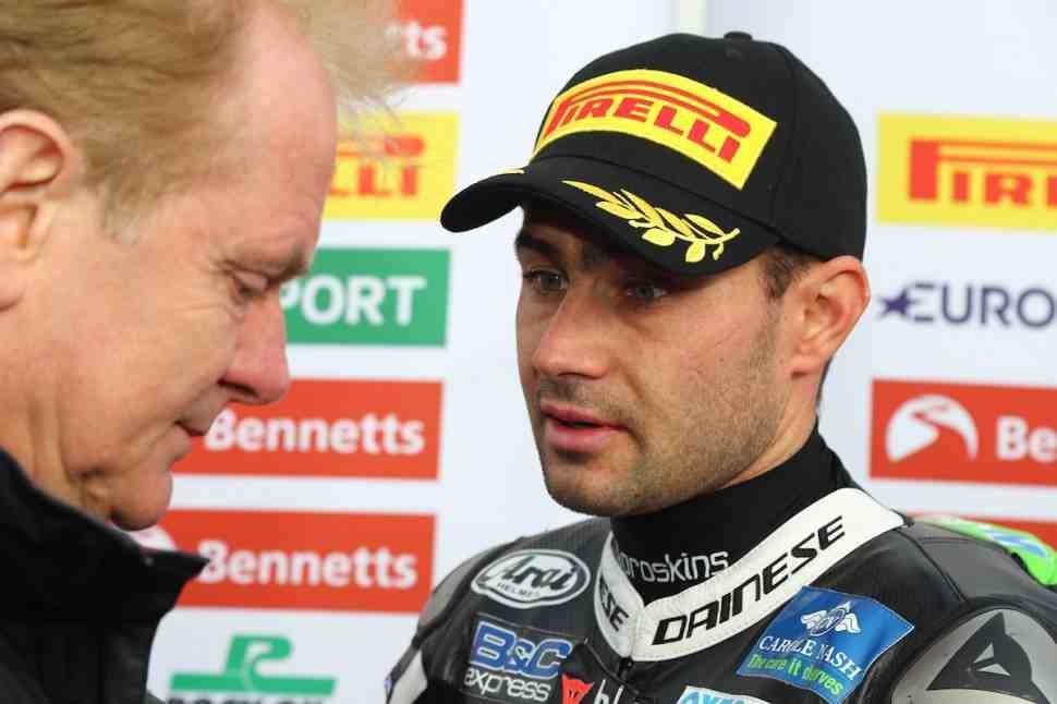 BSB: Хезлам рассказал о проблемах с Pirelli
