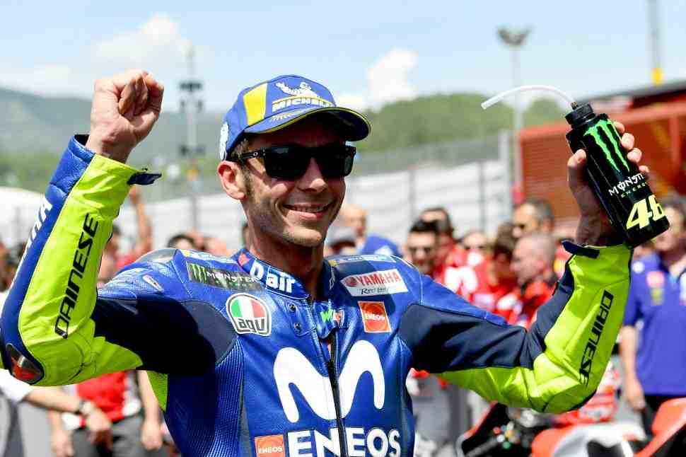 MotoGP: Валентино Росси на подиуме в Муджелло - Счастлив, но не верит в шансы на титул