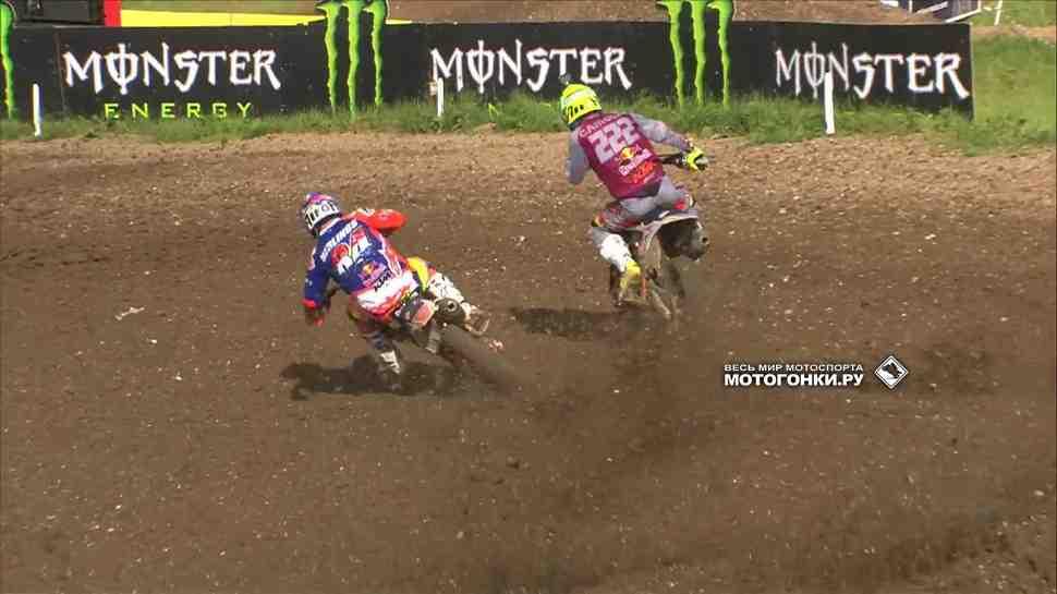 Мотокросс: Кайроли и Херлингс - финиш на ножах, Бобрышев 7-й в MXGP Великобритании!