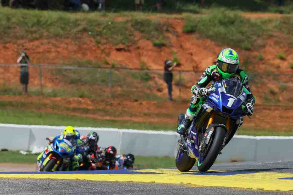 ����� MotoAmerica � Road Atlanta: Monster Energy Yamaha ������������� ����������