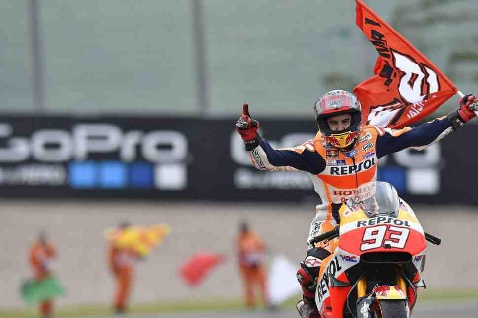 Подарок для Маркеса: как отмененная гонка MotoGP стала решающей