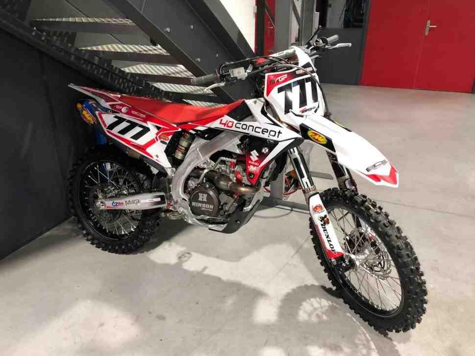 Мотокросс MXGP: мотоцикл Евгения Бобрышева украден в Эйндховене