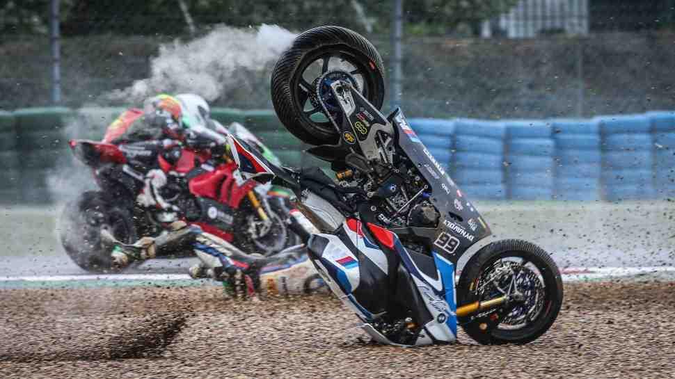 WSBK: �������� ����� � Superpole ��������� ����������� ��� ������� BMW Motorrad (�����������)