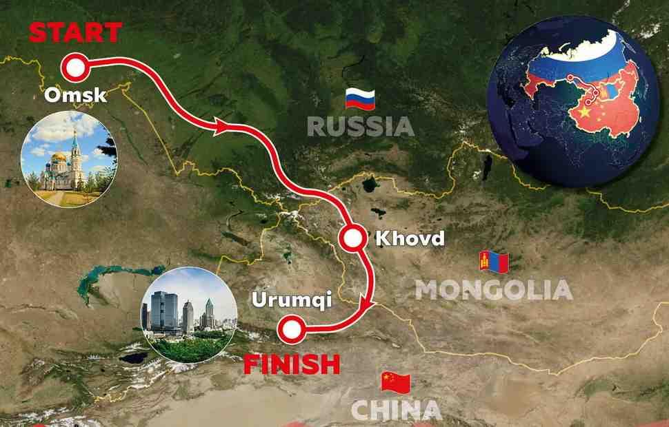 Подробности маршрута международного ралли «Шёлковый путь» 2021 года
