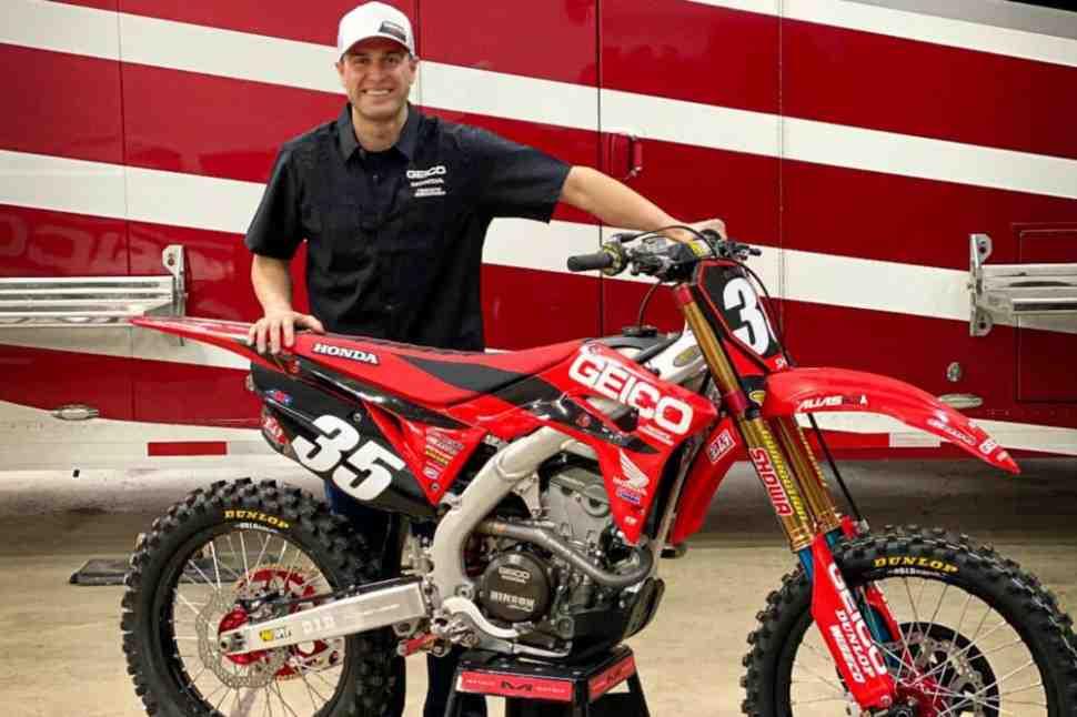 Раян Данжи вернулся в AMA Supercross с Geico Honda