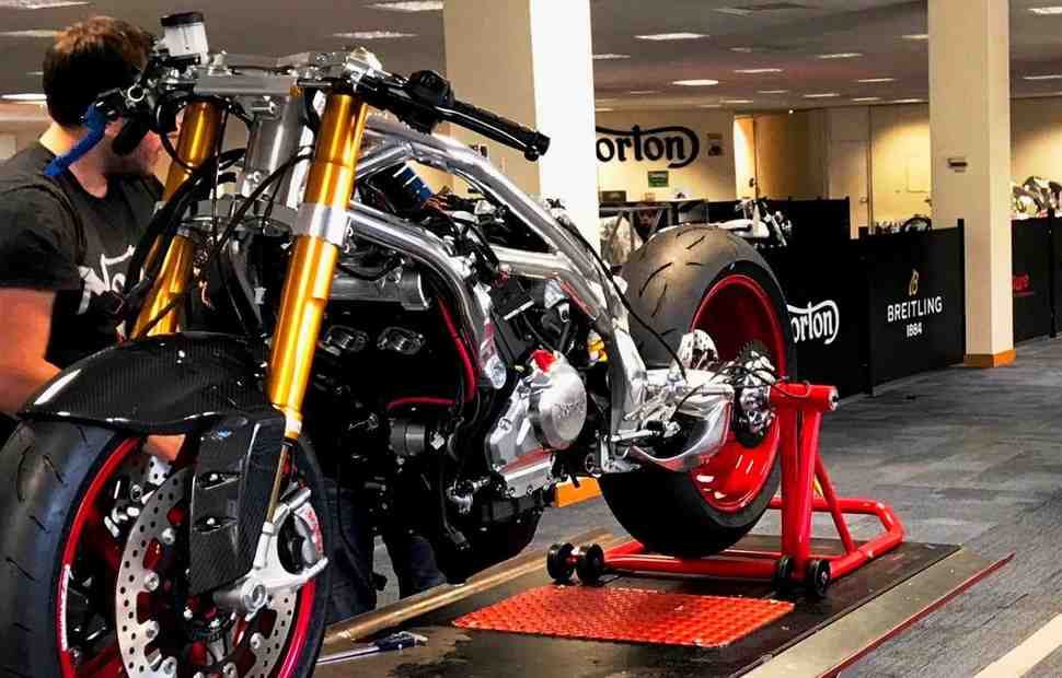 Norton Motorcycles снова на грани закрытия