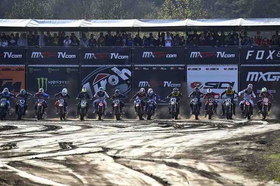 Мотокросс: видео квалификаций Гран-При Нидерландов MXGP/MX2
