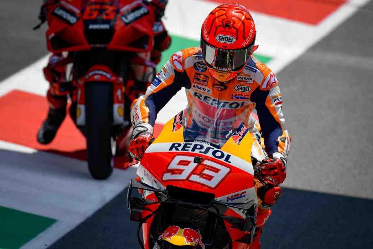 MotoGP: То, что все обсуждают - преследование Маркесом Виньялеса на Q1 Гран-При Италии - видео