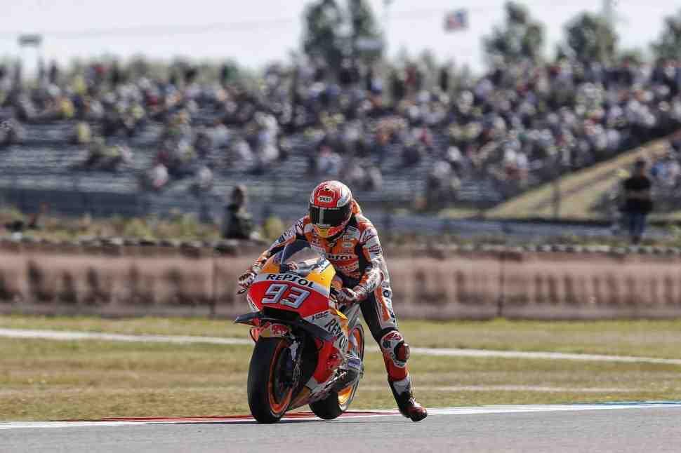 DutchTT - Пилоты MotoGP выбор покрышек оставили на воскресный warm-up