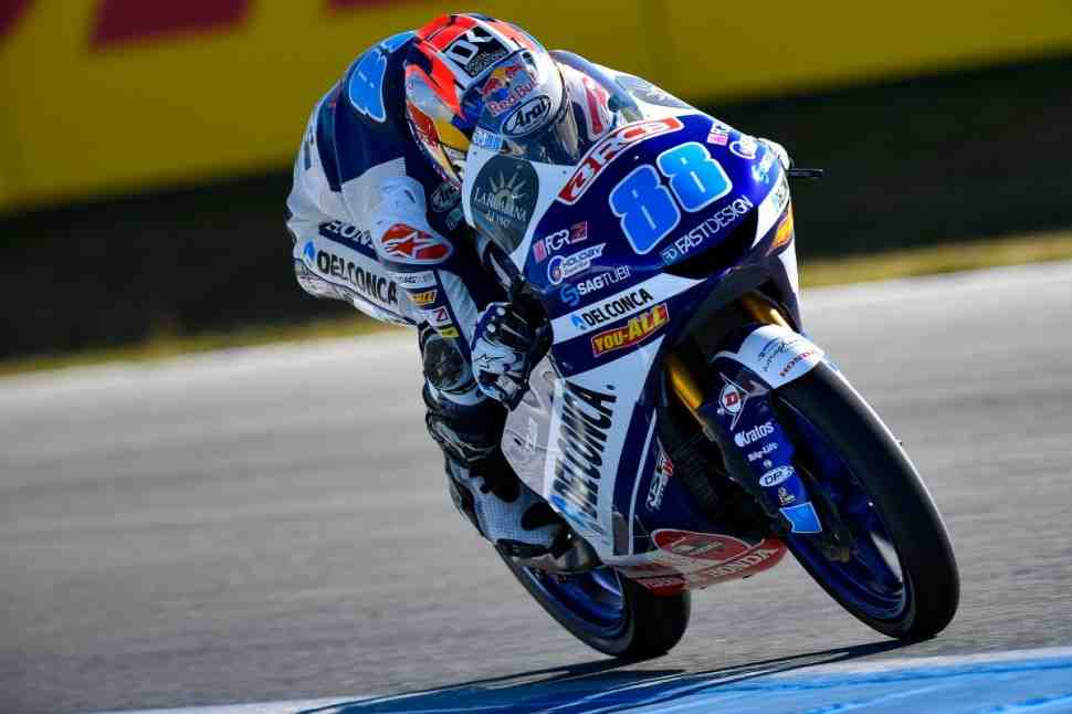 Moto3: Хорхе Мартин взял 5-й поул с начала сезона в DutchTT
