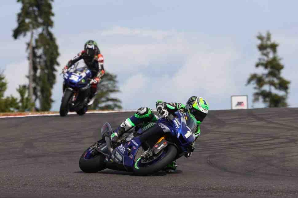 MotoAmerica: ����� � ������������ Ridge Motorsports Park �� ���� 8-� ������ Yamaha