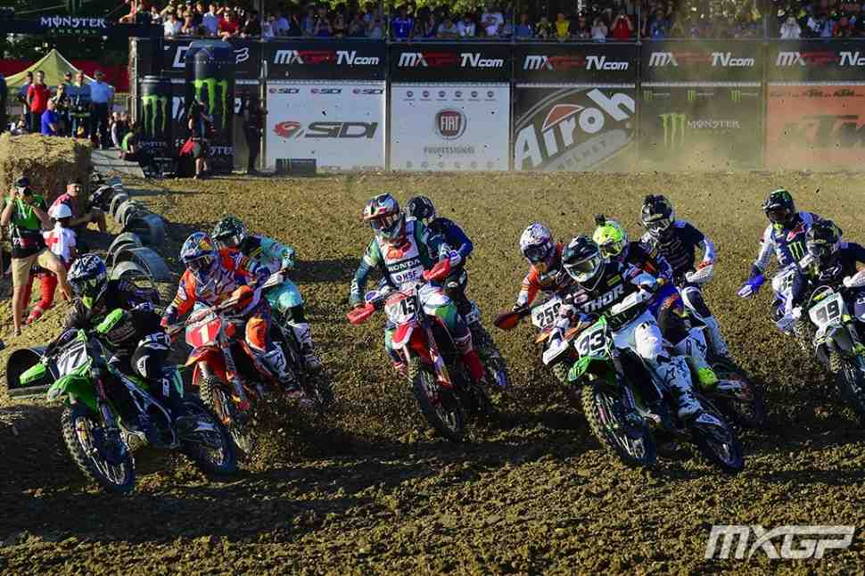 Мотокросс: видео квалификаций Гран-При Италии MXGP/MX2, Имола